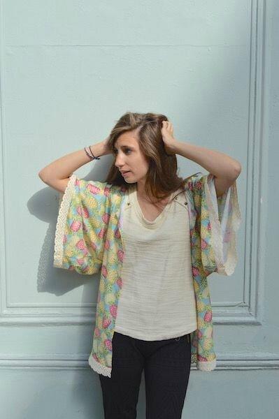 Atelier des vendredi 14 et 21 Avril : Confection d'un kimono