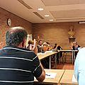 En séance du conseil municipal