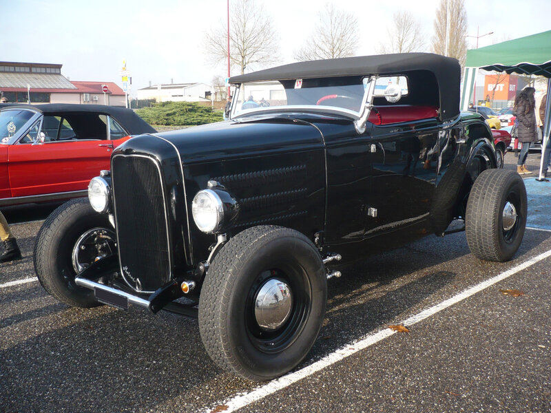 FORD Hot Rod roadster Vendenheim (1)