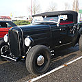 Ford hot rod roadster