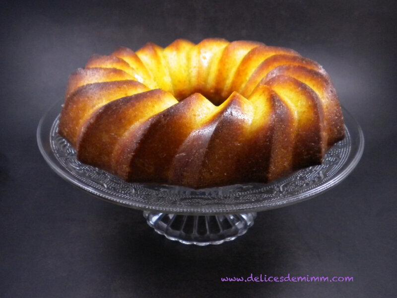 Gâteau moelleux à l'orange 3