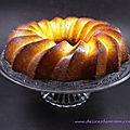 Gâteau moelleux à l'orange pour les 10 ans de mon blog
