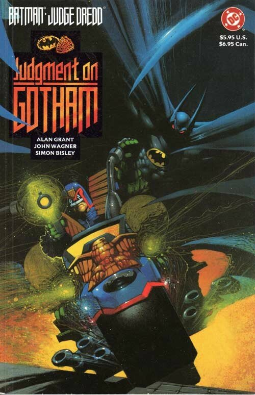 batman judge dredd judgment on gotham GN