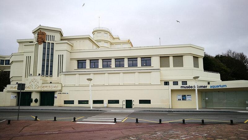Biarritz, musée de la mer, entrée (64)