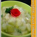 Courgettes sauce crèmeuse