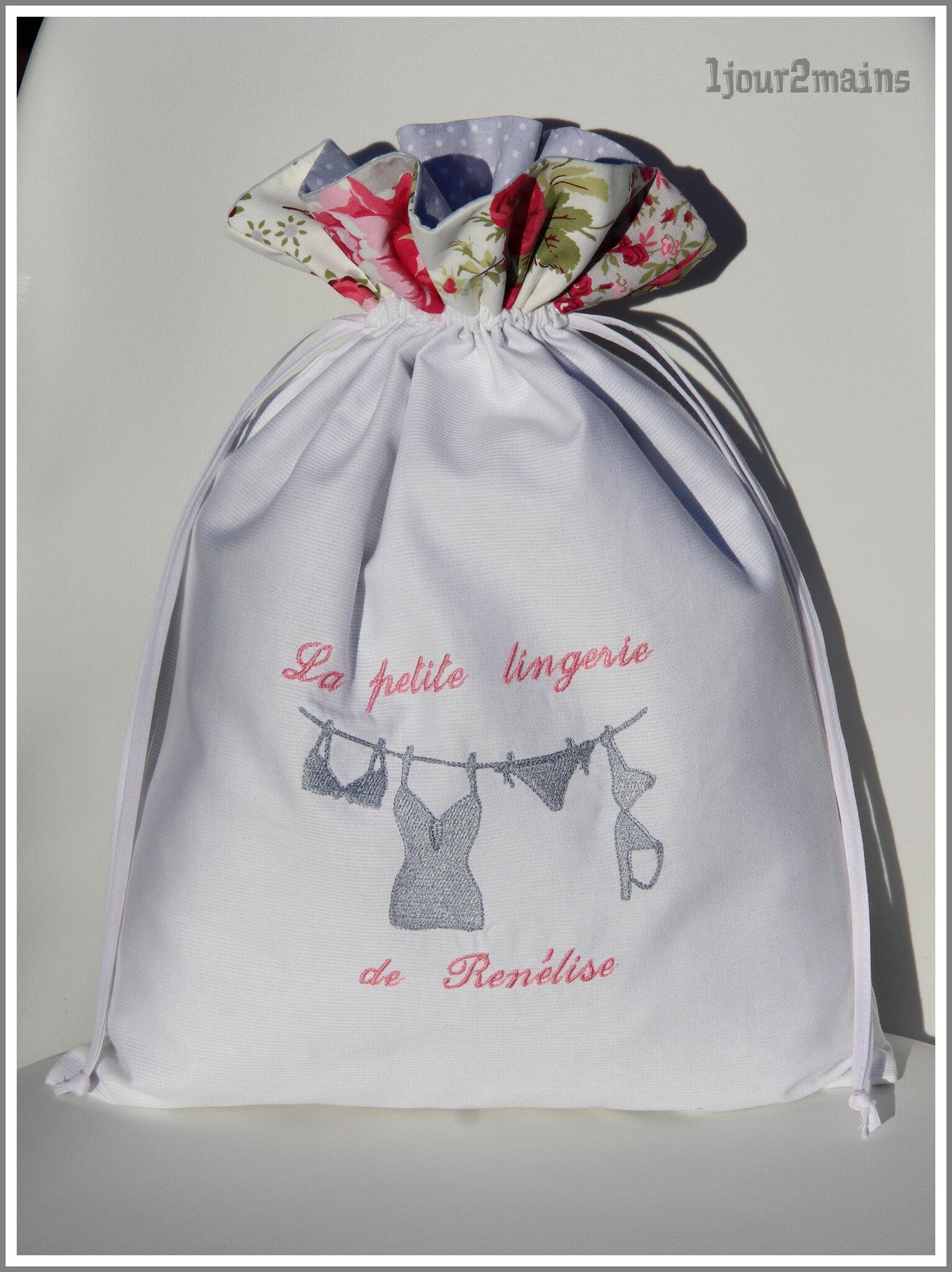 sac lingerie renelise