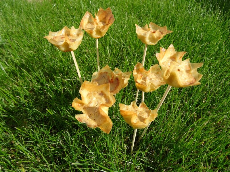 fleurs au thon