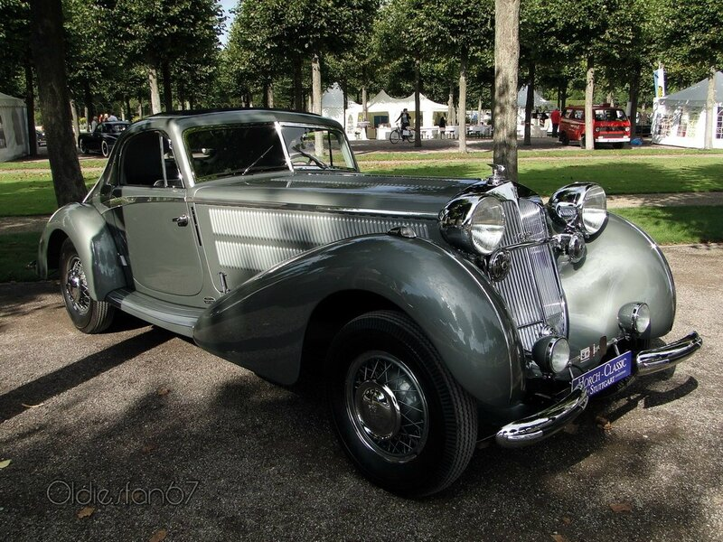 horch 853 Stromlinien coupe manuela 1937 a