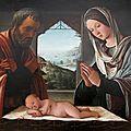 Lorenzo Costa : La Nativité