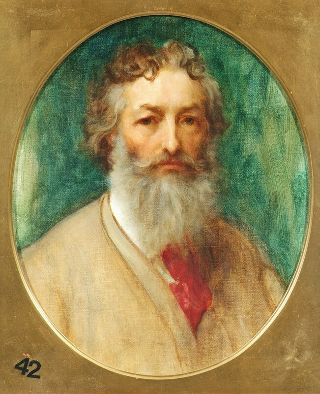 Frederic, Lord Leighton, 'Self Portrait', 1882