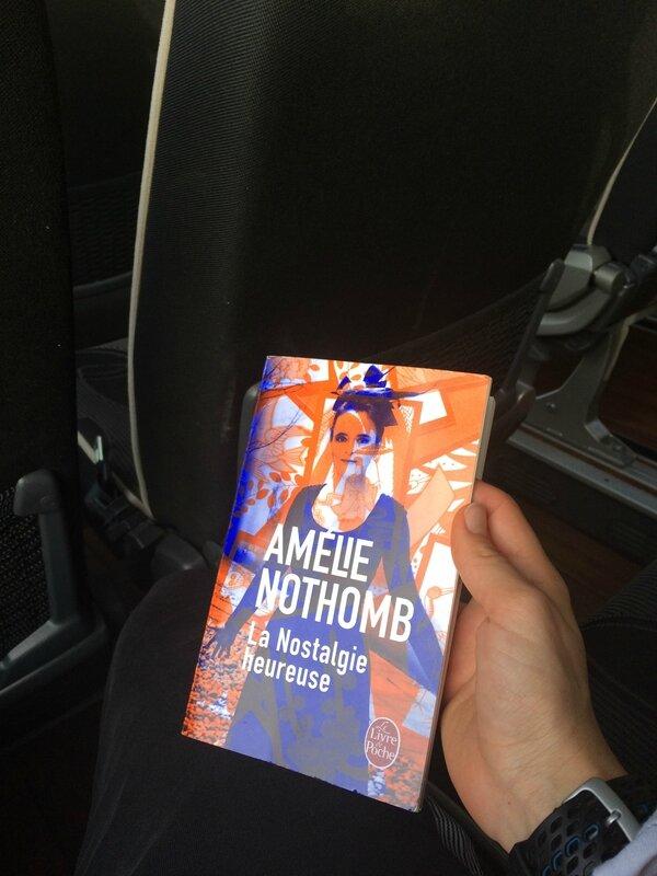 Amélie Nothomb pour le retour