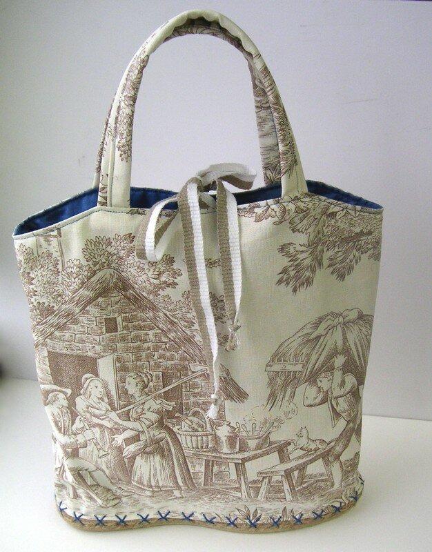 un sac espadrille spécial daf avec ruban