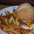 Hamburger maison (avec machine à pain)