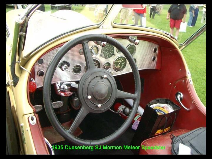 1935 - Duesenberg SJ mormon Meteor Speeder