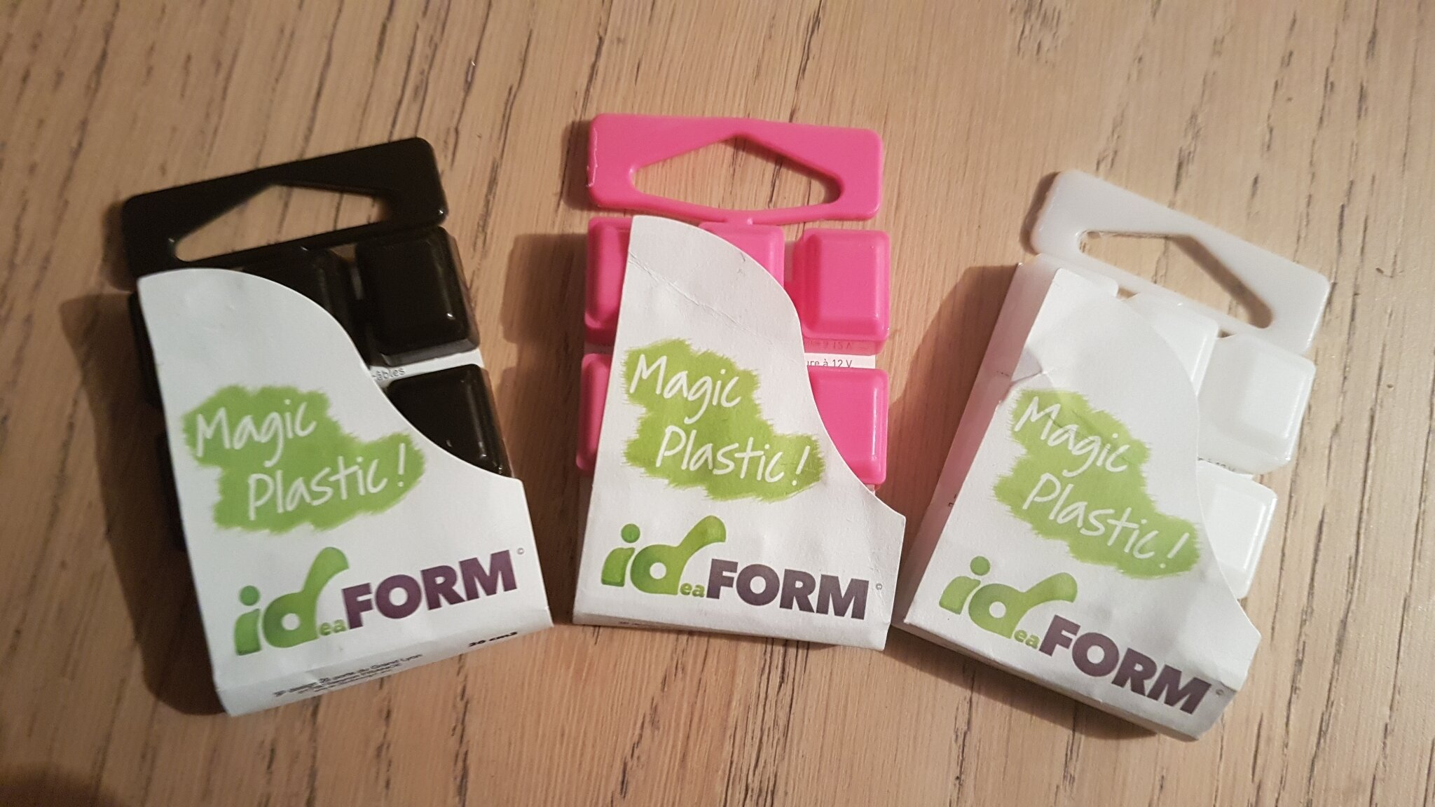 Test du plastic magic ID Form : très astucieux !