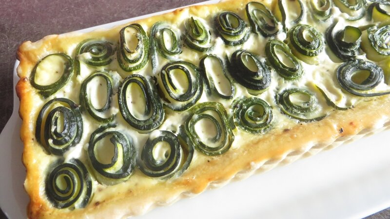 Tarte courgettes fromage frais (4)