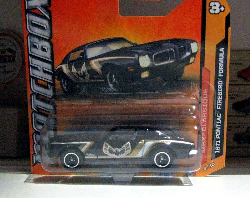 Pontiac firebird formula de 1971 (Matchbox)