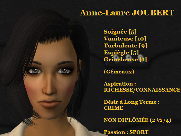 Anne-Laure JOUBERT