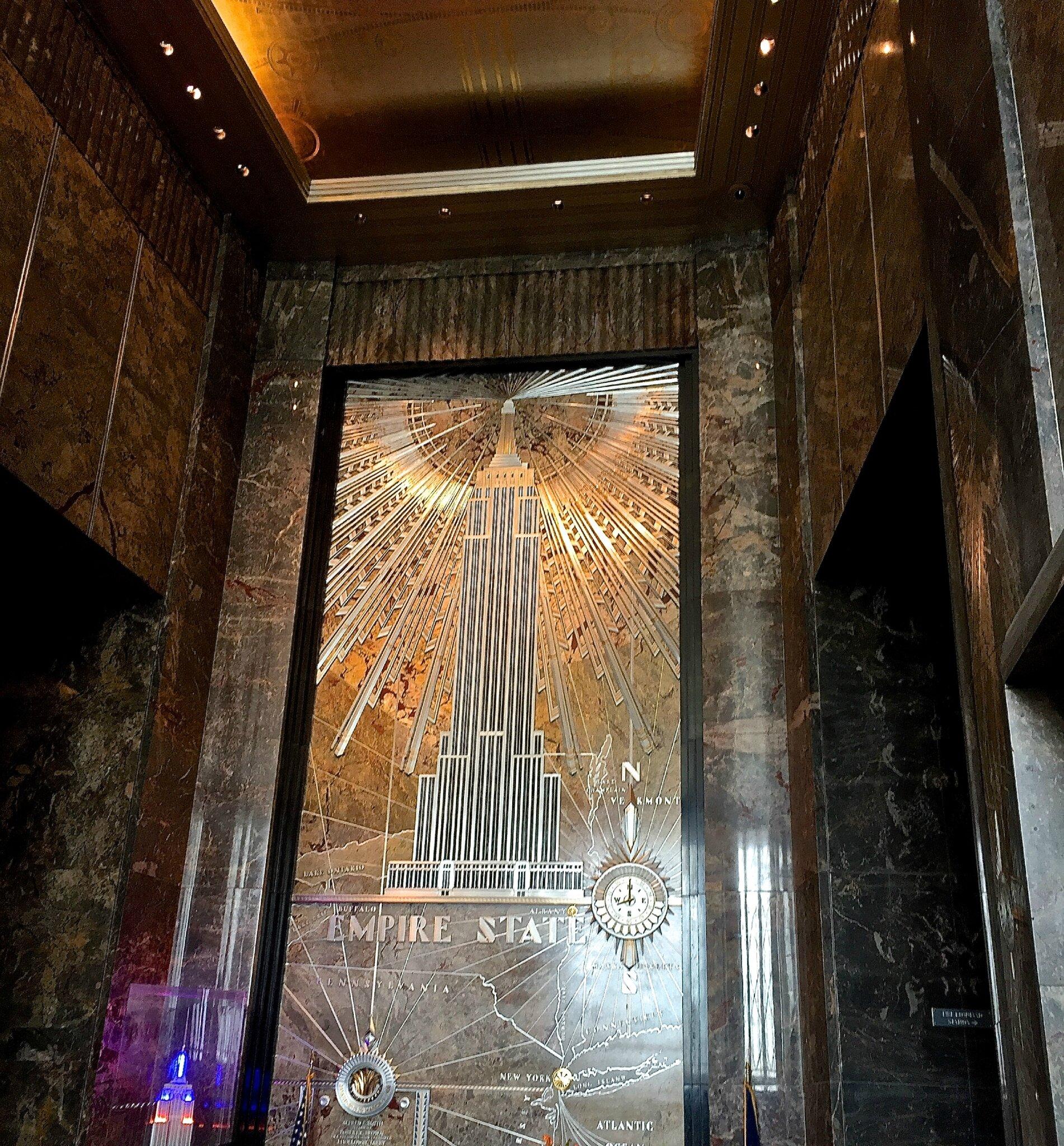 Hall d'accueil de l'Empire State Building