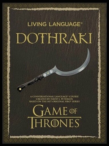 living language dothraki 1