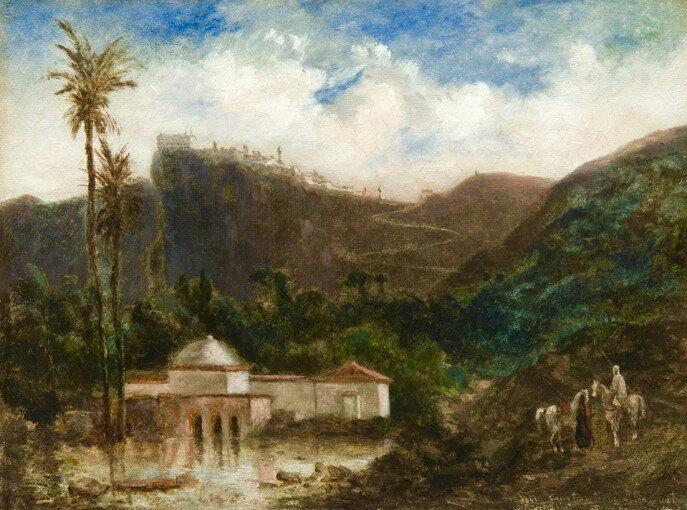 Constantine, vu par Prosper Bacuet, 1841