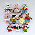 Funny little bunnies - dollytime