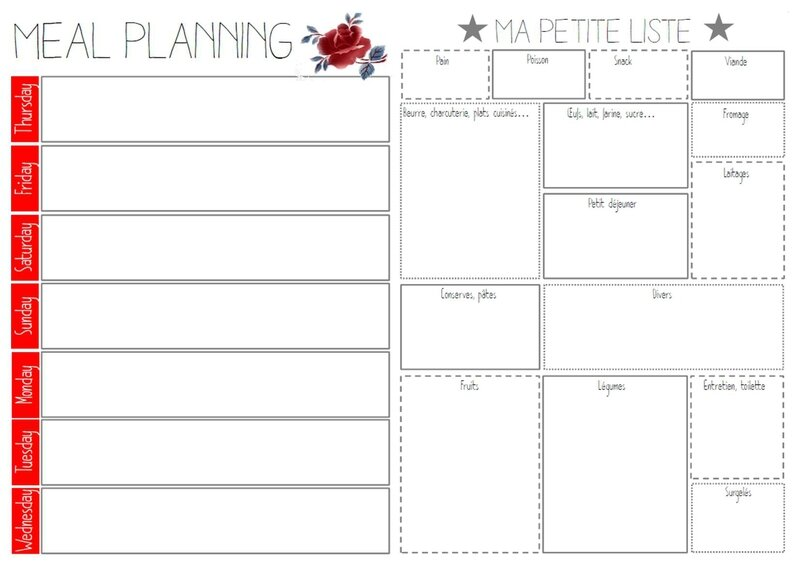 Meal planning & grocery