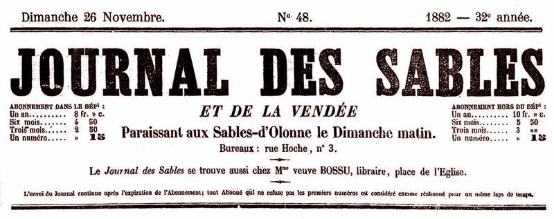Journal des Sables