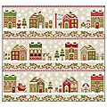 Le santa's village de country cottage needleworks