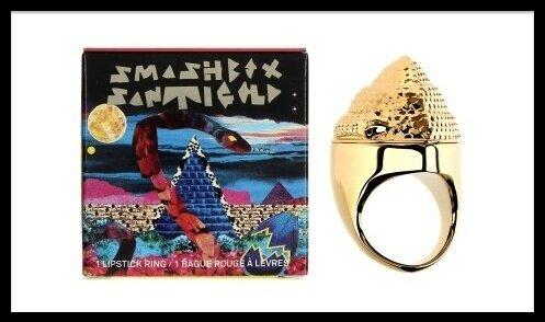 smashbox sabtigold bague rouge levres 1