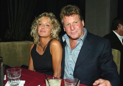 92585_farrah_fawcett_and_ryan_oneal_relax_at_the_after_party_for_malibus_most_wanted_at_the_highlands_on_april_10_2003_in_los_angeles_california