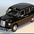 Austin FX4 London Taxi Welly A 1