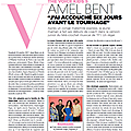 [captures hq]: article et photos du gala n°1322: amel bent the voice kids 5 !