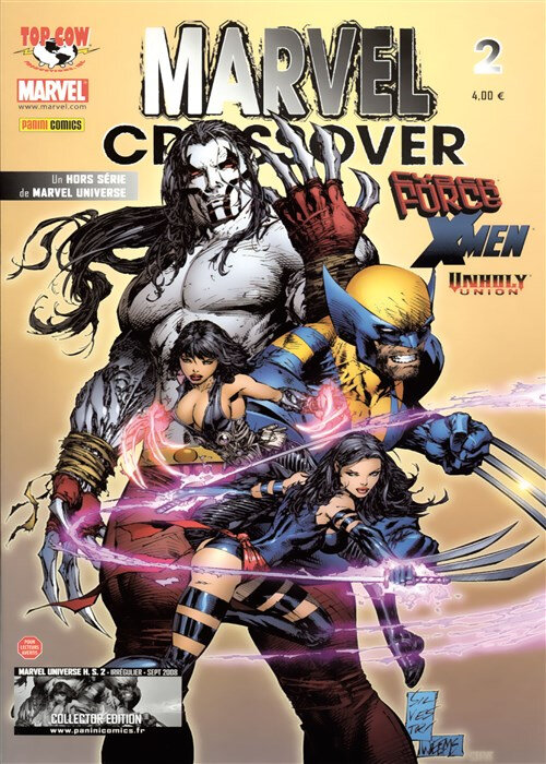 marvel universe hs 02 crossover cyberforce x-men