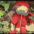 Une poupée au crochet d'isabelle k.