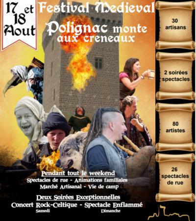 MEDIEVALES DE POLIGNAC AOUT 2019
