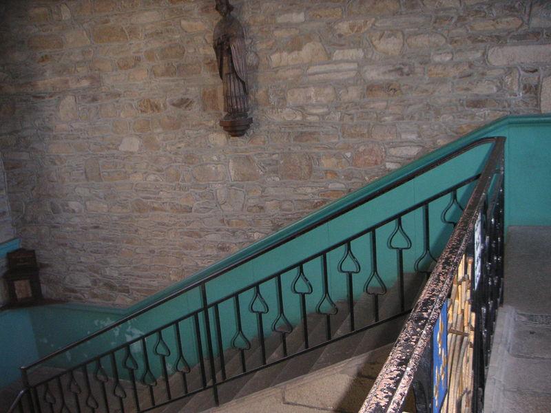 L'escalier d'Honneur (XVII ème siècle)