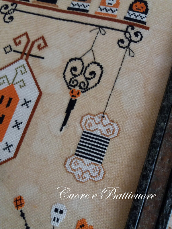 halloween and cross stitch 2