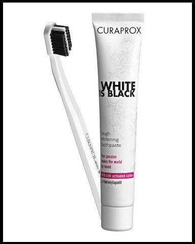 curaprox white is black