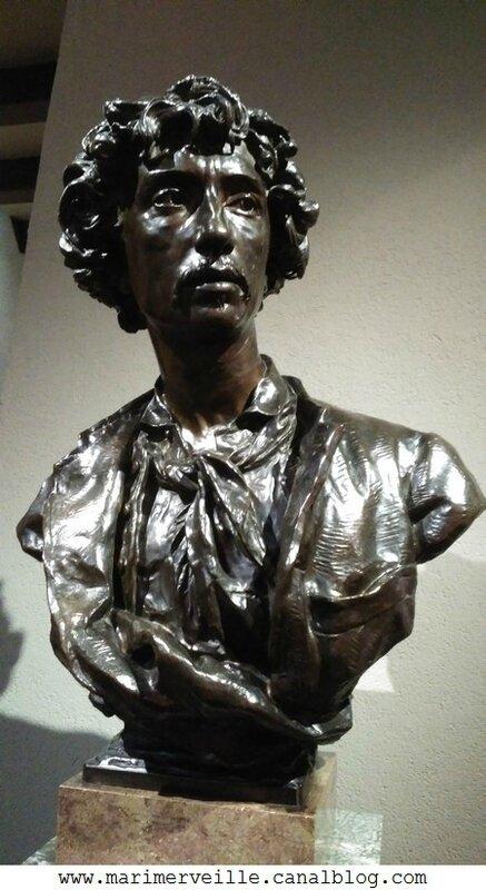 Charles Garnier architecte- sculpture de Jean-Baptiste Carpeaux Musee d'Orsay - marimerveille