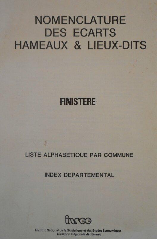 Nomenclature INSEE