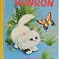 Livre ancien ... ronron (1963) * albums roses