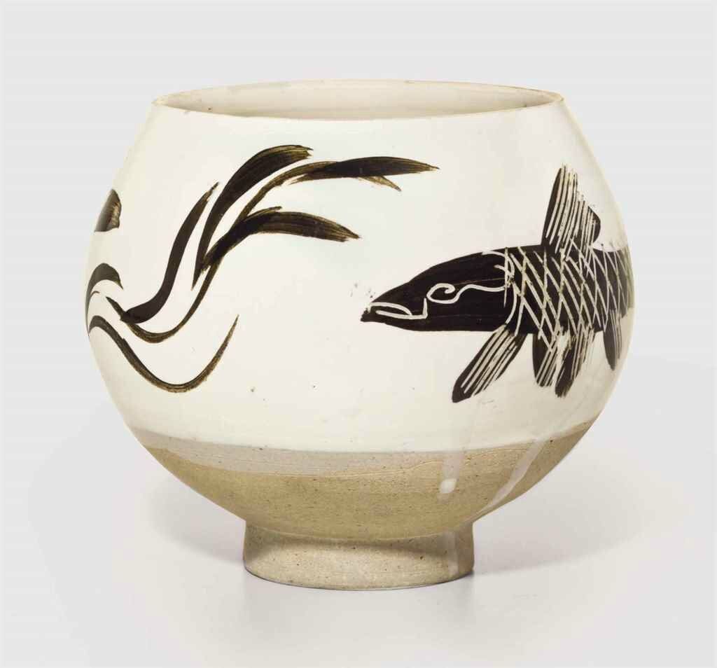 A painted and incised Cizhou deep bowl, Northern Song-Jin dynasty (960-1234)