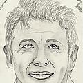 Dessin portrait de star: patrick bruel