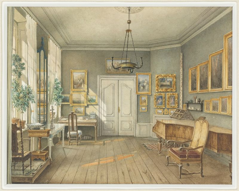 The Music Room of Fanny Hensel (nee Mendelssohn)