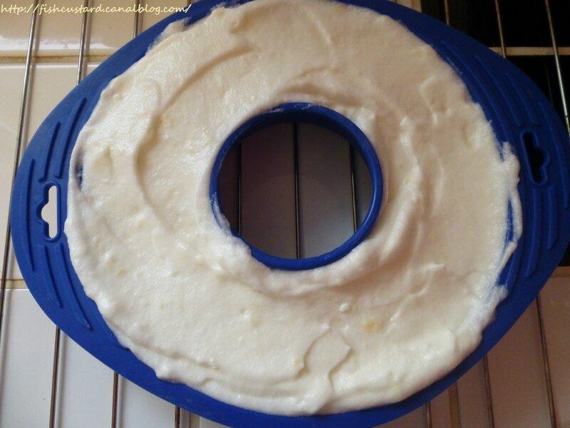 Gâteau mousseline au citron (1)