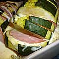 Courgettes farcies facon