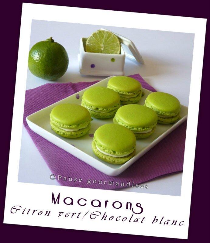 1-Macarons ganache montée citron vert (30)