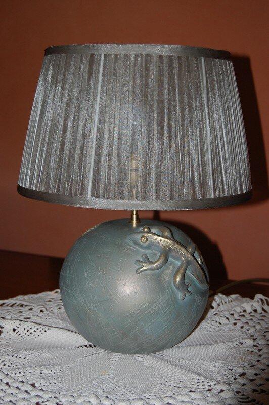 Pied de lampe - poterie