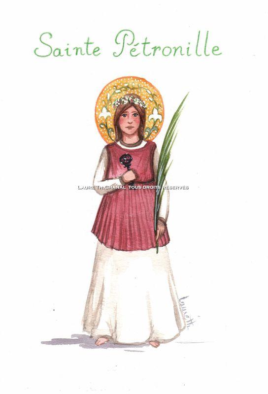 sainte Pétronille, vierge martyre